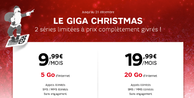 Le Giga Christmas de RED by SFR
