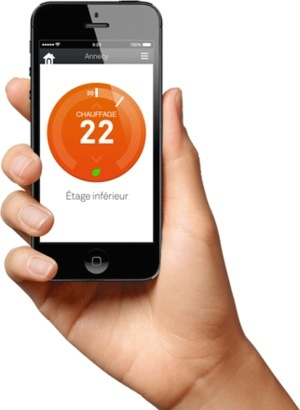 Le thermostat Nest est subventionné en France par Direct Énergie