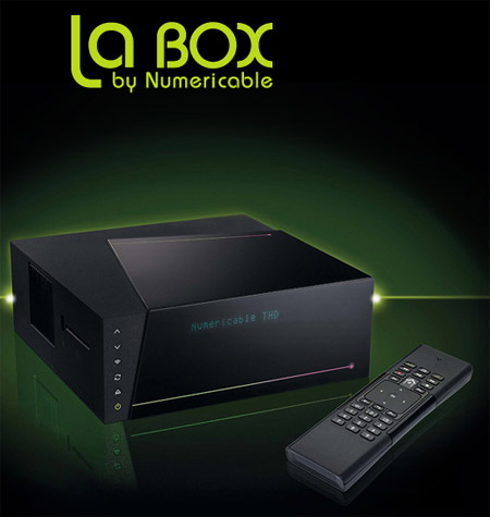 Lancement de LaBox Séries par Numericable