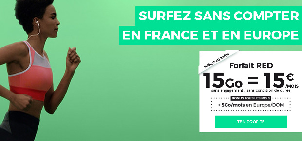 Bon plan de RED by SFR