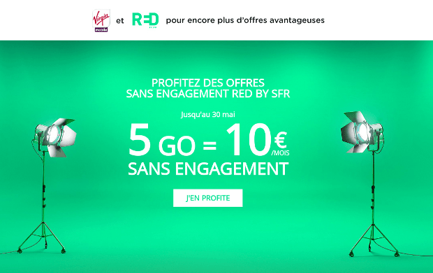 promotion RED by SFR