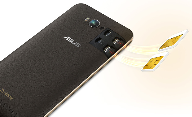 port double SIM du Zenfone Max